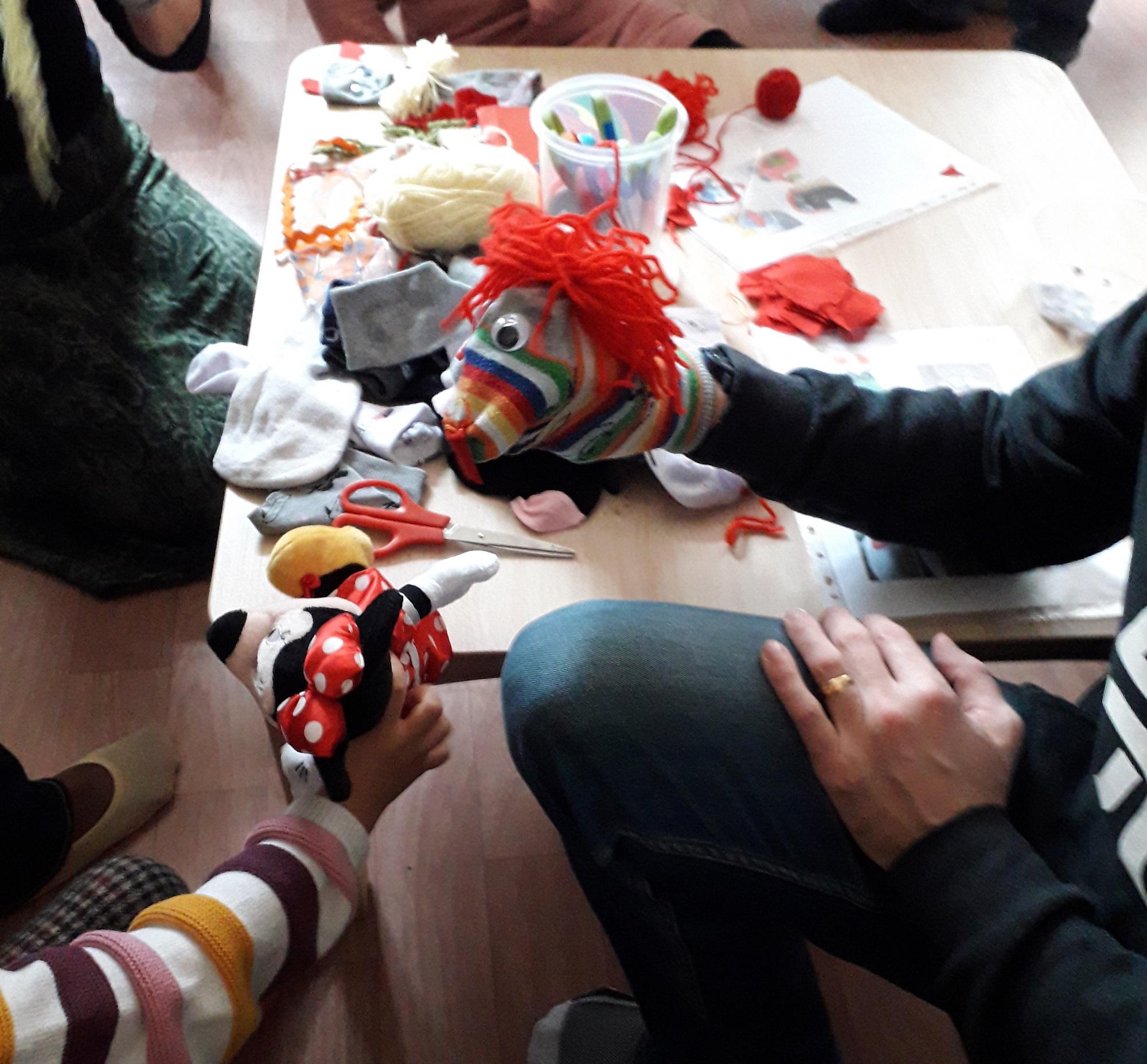 contes et atelier marionnette