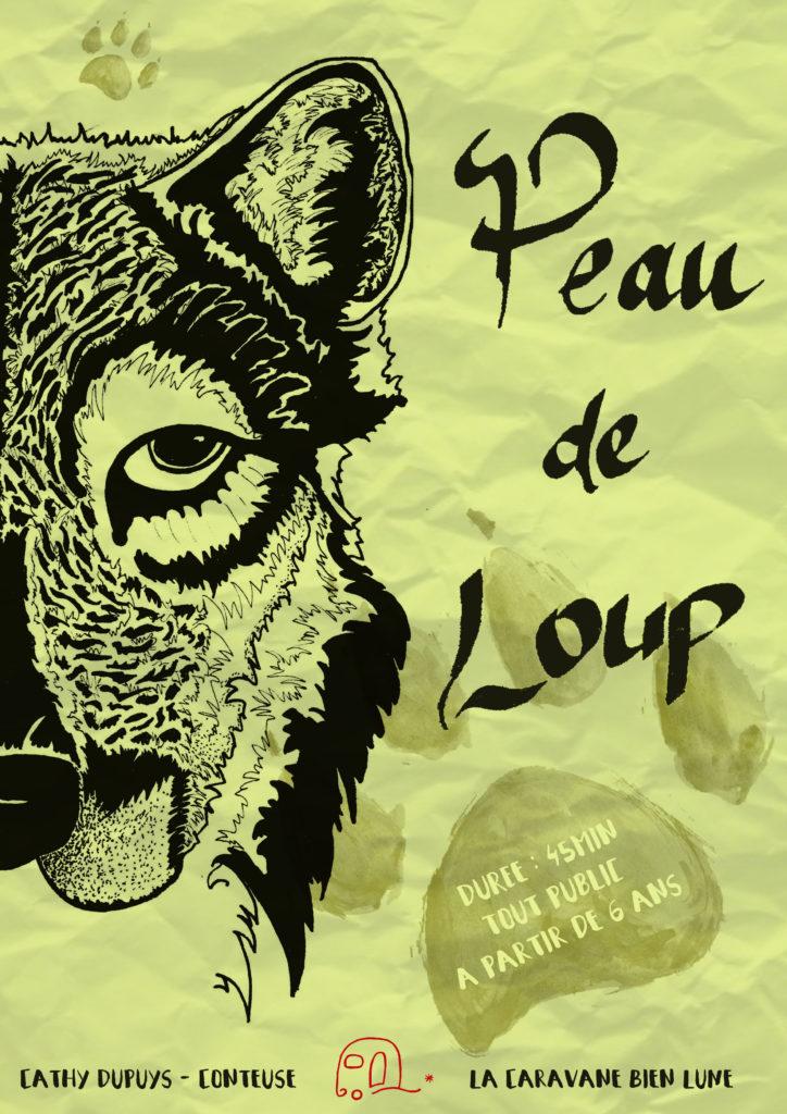 conte sur la solidarité -loup